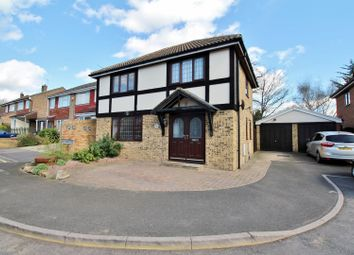 Thumbnail 3 bed detached house for sale in Ivy Bower Close, Greenhithe