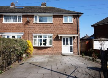 Thumbnail 3 bed end terrace house for sale in Barlow Road, Wilmslow