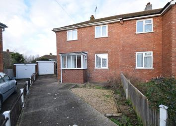 Thumbnail 3 bed semi-detached house for sale in Court Road, Eastbourne