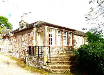 Thumbnail 3 bed detached house for sale in The Bungalow, Kirkconnel Hall Hotel, Ecclefechan, Lockerbie, Dumfriesshire.