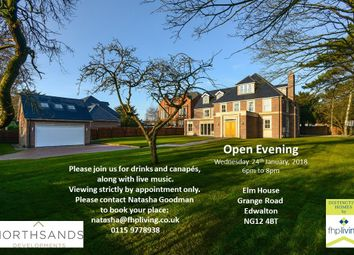 Thumbnail 6 bed detached house for sale in Grange Road, Edwalton