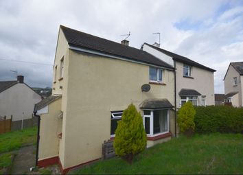 Thumbnail 3 bed semi-detached house for sale in Balmoral Close, Newton Abbot