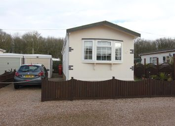 Thumbnail 2 bedroom mobile/park home for sale in Castlewood Mobile Home Park, Hinckley Road, Sapcote, Leicester