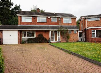 Thumbnail 5 bedroom detached house for sale in Glen Court, Wolverhampton