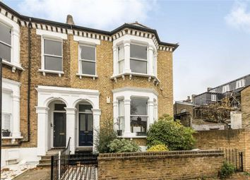 Thumbnail 3 bed flat to rent in Wroughton Road, London