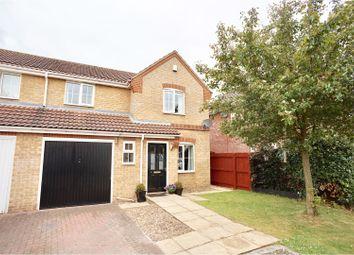 Thumbnail 3 bed semi-detached house for sale in Wells Drive, Bracebridge Heath
