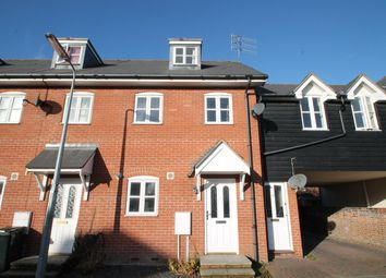 Thumbnail 3 bedroom town house for sale in Brickfield Close, Ipswich