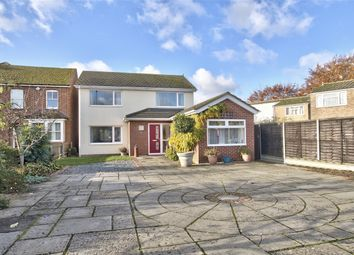 Thumbnail 5 bed detached house for sale in Barford Road, Eynesbury, St Neots, Cambridgeshire