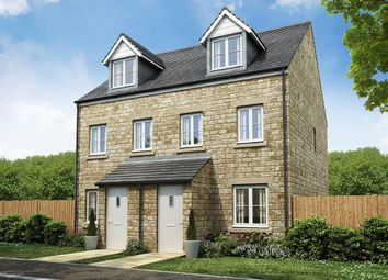 "Thumbnail 3 bed semi-detached house for sale in ""The Souter "" at Townsend Road, Witney"