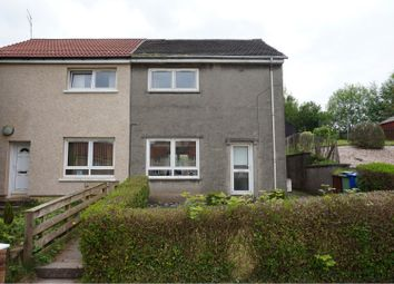 Thumbnail 2 bed semi-detached house for sale in Hawthornhill Road, Dumbarton