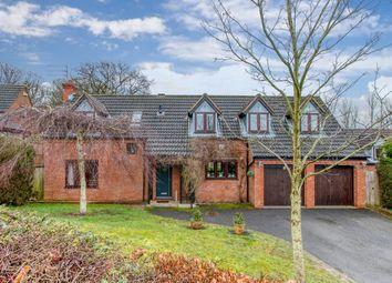 Thumbnail 4 bed detached house for sale in Parmington Close, Callow Hill, Redditch