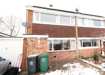 Thumbnail 3 bed semi-detached house for sale in Westwood Park, Swadlincote, Derbyshire