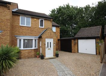 Thumbnail 4 bed semi-detached house for sale in Naylor Avenue, Kempston, Bedford