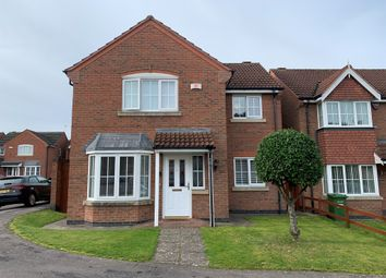 Thumbnail Detached house for sale in Fludes Court, Oadby, Leicester