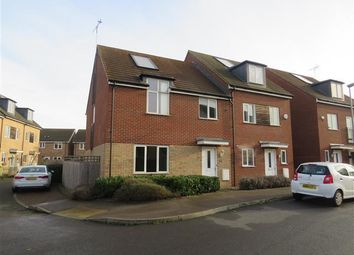 Thumbnail 3 bed property to rent in Primrose Lane, Broughton, Milton Keynes
