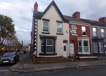 Thumbnail 5 bed end terrace house for sale in Romer Road, Kensington, Liverpool, Merseyside