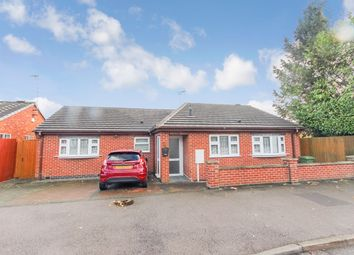Thumbnail 3 bed detached bungalow for sale in Hillrise Avenue, Leicester