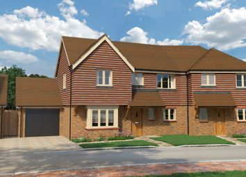 Thumbnail 3 bed semi-detached house for sale in Cherry Tree Lane, Cranleigh Road, Ewhurst, Surrey