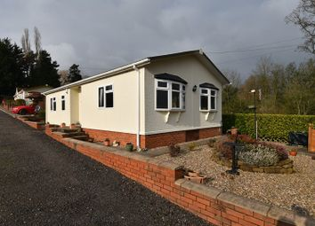 Thumbnail 2 bed mobile/park home for sale in Pool Lane, Clows Top, Kidderminster