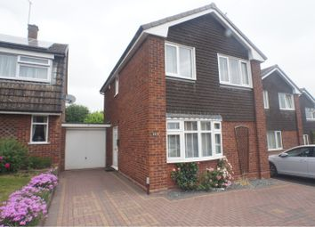 Thumbnail 3 bed link-detached house for sale in St. Marys Road, Lichfield