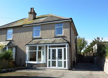 Thumbnail 3 bedroom semi-detached house for sale in Trevethan Rise, Falmouth