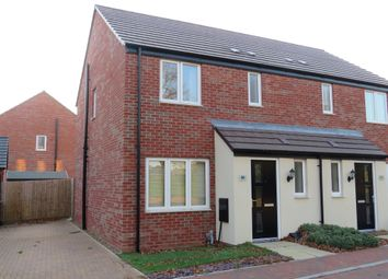 Thumbnail 3 bed semi-detached house for sale in Dover Close, Northampton