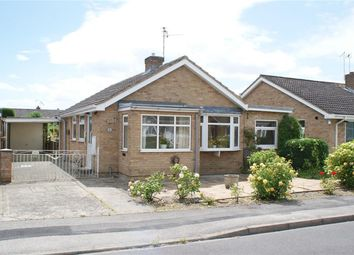 Thumbnail 2 bed detached bungalow for sale in Churchfield Drive, Wigginton, York