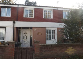 Thumbnail 3 bed terraced house for sale in Elm Road, Thetford