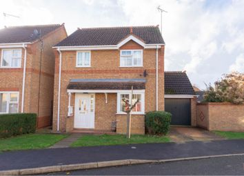 Thumbnail 3 bed detached house for sale in Deene Close, Market Deeping, Peterborough