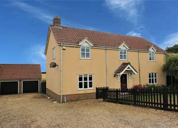 Thumbnail 4 bed detached house for sale in Birchfield Road, Nordelph, Downham Market