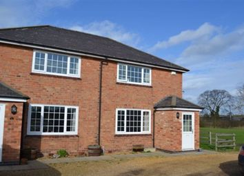 Thumbnail 2 bed semi-detached house to rent in New Hall Farm, Enderby Road, Thurlaston, Leicester