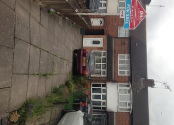 Thumbnail 2 bed terraced house for sale in Greenwood Road, Leicester