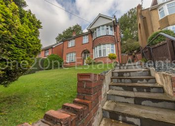 Thumbnail 3 bed detached house for sale in Usk Road, Pontypool