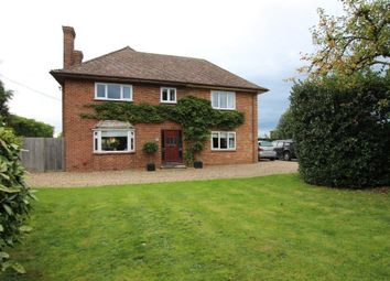 Thumbnail 4 bed detached house for sale in Black Bank Road, Little Downham, Ely