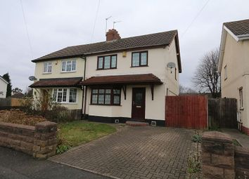 Thumbnail 3 bed semi-detached house for sale in Evans Street, Willenhall, Wolverhampton, West Midlands