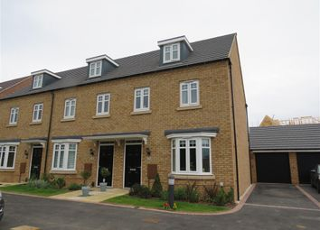 Thumbnail 3 bed town house for sale in John Boden Way, Loughborough