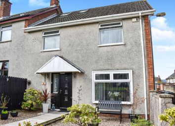 Thumbnail 3 bedroom end terrace house for sale in Kilwarlin Crescent, Belfast