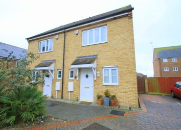 Thumbnail 2 bed end terrace house for sale in Seaford Way, Shoreham-By-Sea
