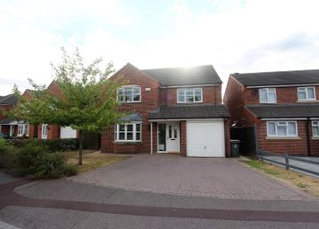 Thumbnail 4 bedroom property for sale in Bridgemere Close, Leicester