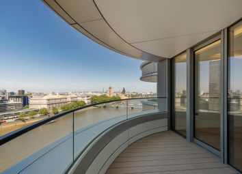 Thumbnail 3 bed flat to rent in Tower Two, The Corniche, 23 Albert Embankment, London