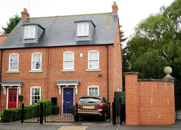 Thumbnail 3 bed town house for sale in Park Lane, Long Sutton, Spalding