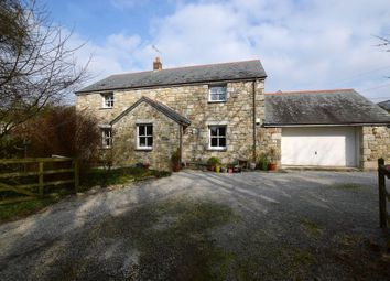 Thumbnail 4 bedroom detached house for sale in Germoe, Penzance, Cornwall