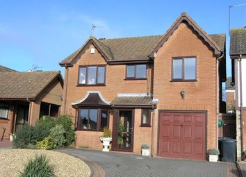 Thumbnail 4 bedroom detached house for sale in Tamar Drive, Dudley