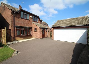 4 bed detached house for sale in Roundhill Close, Syston, Leicester LE7