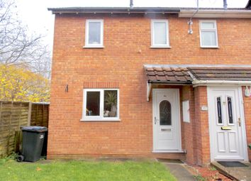 Thumbnail 1 bed end terrace house to rent in Westbury Avenue, Droitwich Spa, Worcestershire