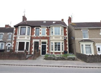 Thumbnail 4 bed semi-detached house for sale in Swindon Road, Wroughton, Swindon