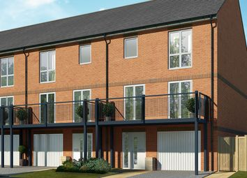 "Thumbnail 4 bed terraced house for sale in ""The Maple Variant 4"" at Palmers Field Avenue, Chichester"