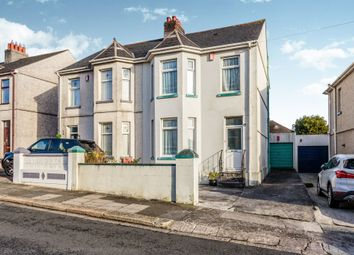 Thumbnail 3 bedroom semi-detached house for sale in West Down Road, Plymouth