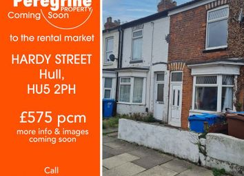 Thumbnail 2 bed terraced house to rent in Hardy Street, Hull