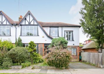 Thumbnail 4 bed semi-detached house to rent in The Mall, Surbiton